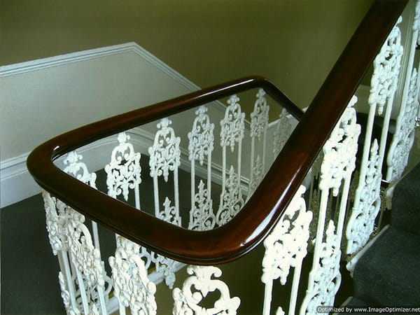 Staircase French Polisher London - Handrail French Polisher London